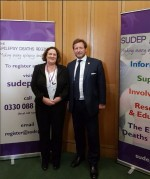 Jane Hanna with Ed Vaizey MP