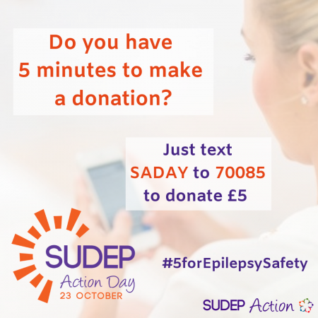 SUDEP Action Donate Code