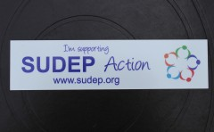 SUDEP Action Car Sticker